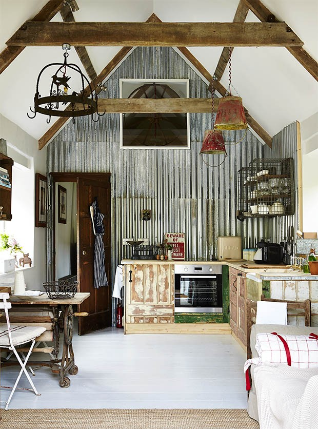 Country living modern rustic issue four on sale now Barn home interiors