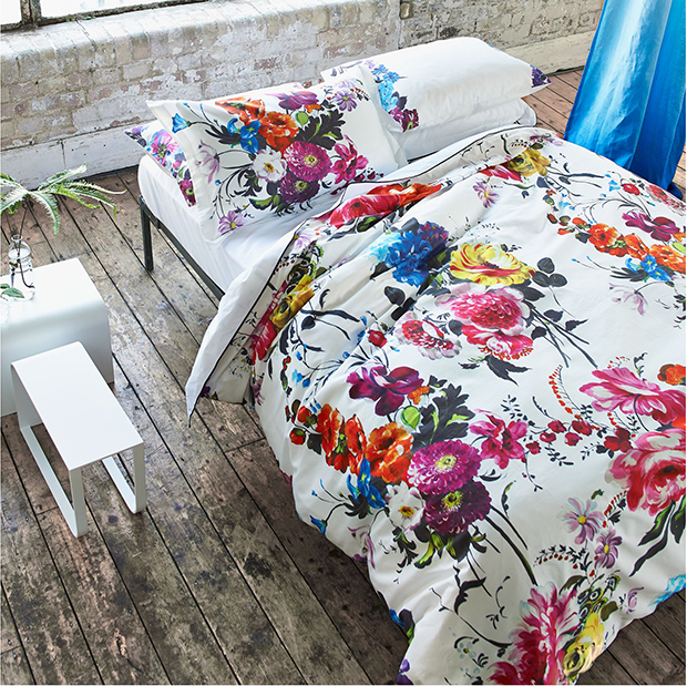 Summer Home Decor Ideas: colourful bedding