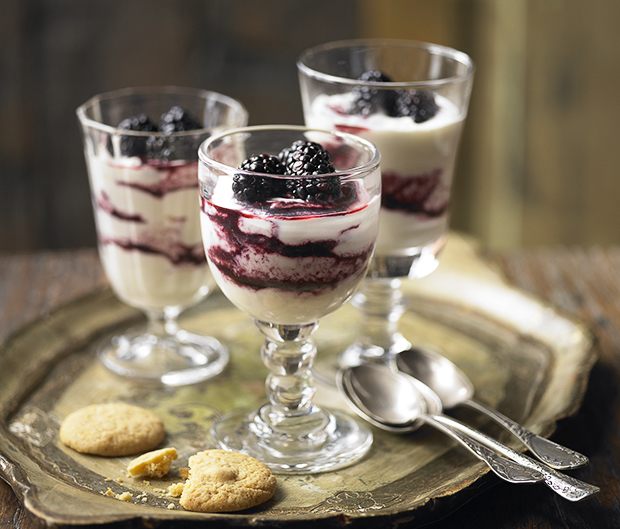 Blackberry fool - Blackberry recipes