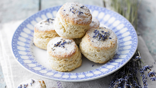 Lavender buttermilk scones country living magazine uk for Country living magazine recipes