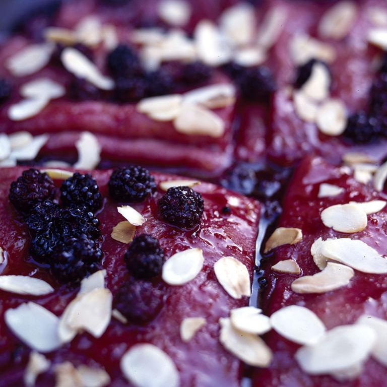 how to make blackberry pancakes