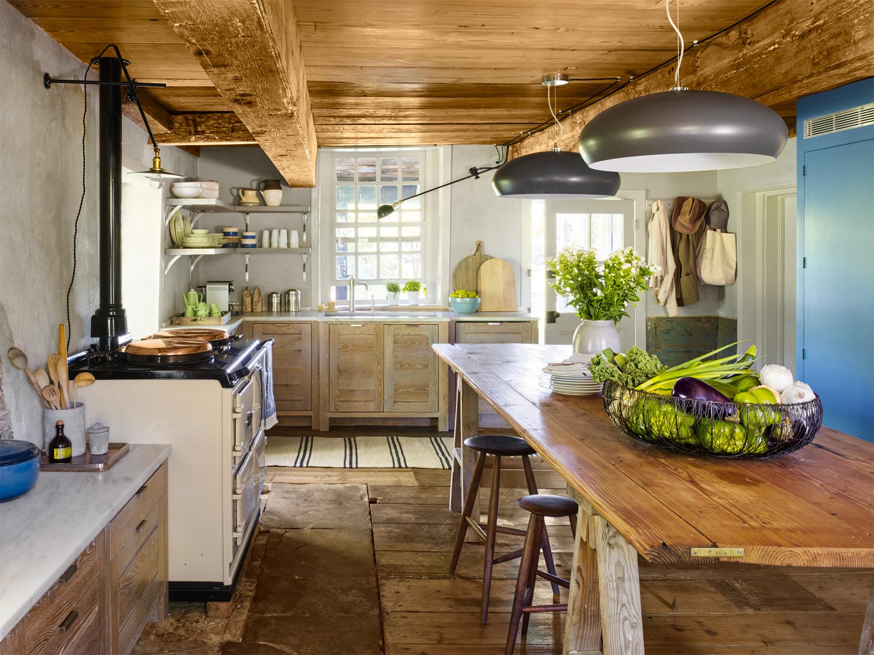 New Paltz Kitchen Reclaimed Kitchen Decorating Ideas