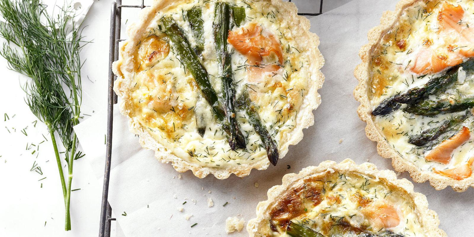 Recipe Smoked Salmon And Asparagus Tarts
