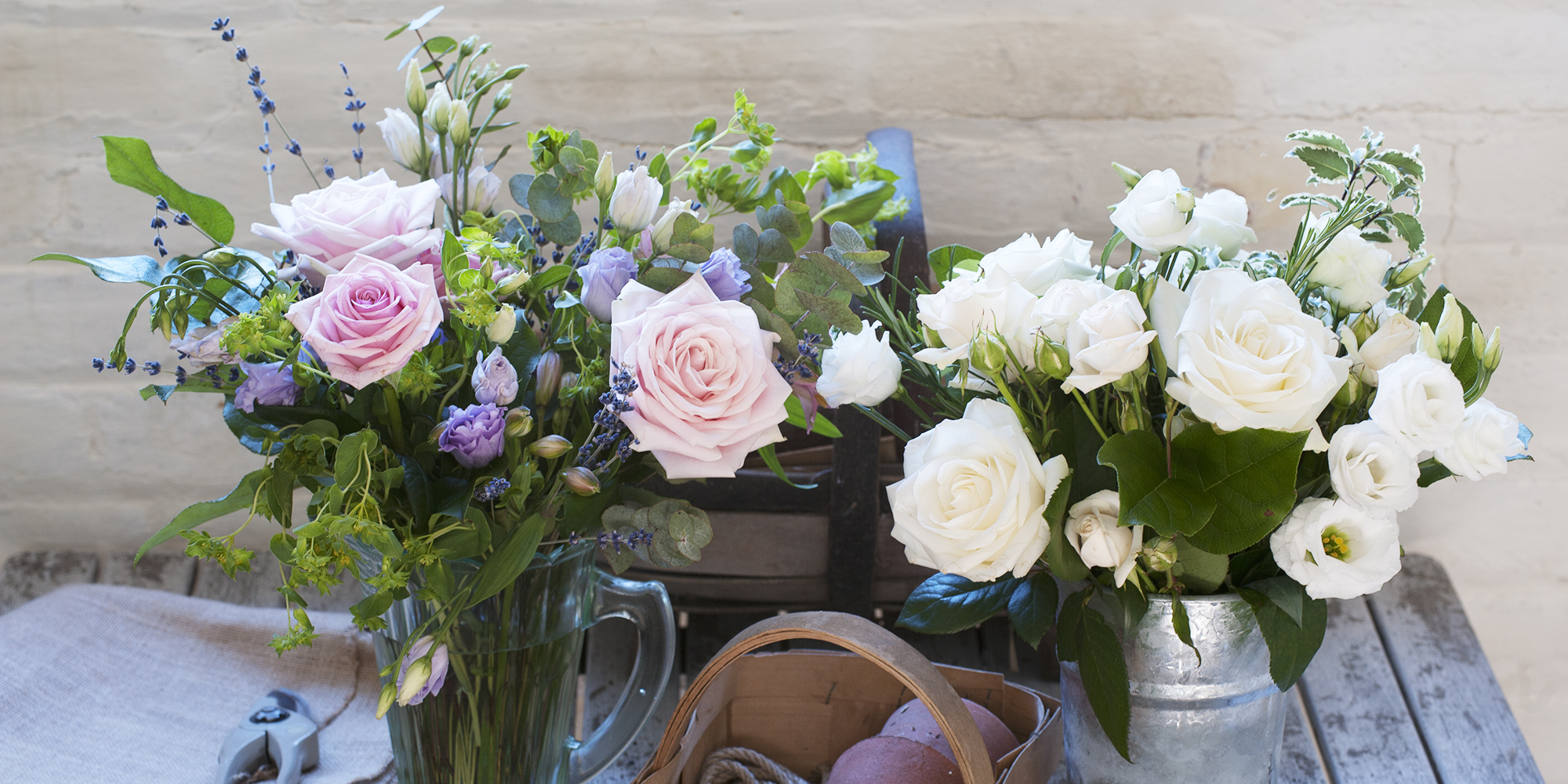 The Country Living & Interflora bouquet collection