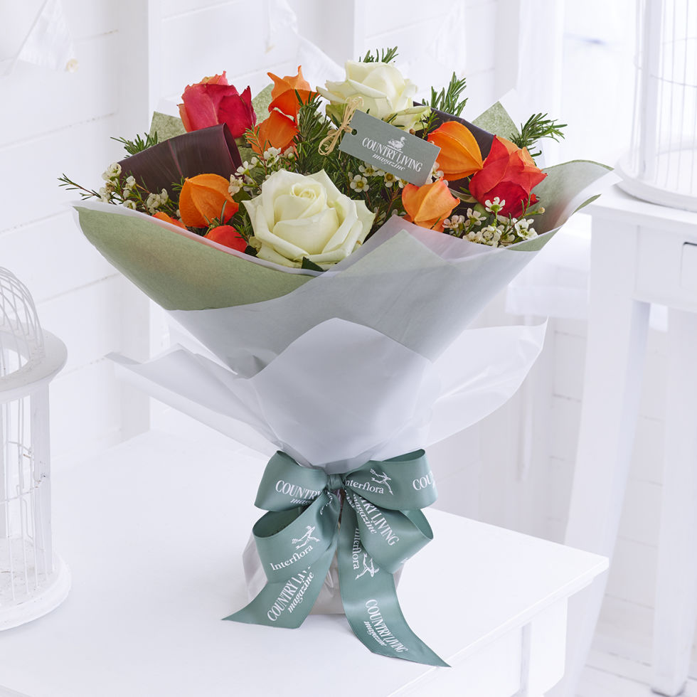 Connu The Country Living & Interflora bouquet collection BJ29