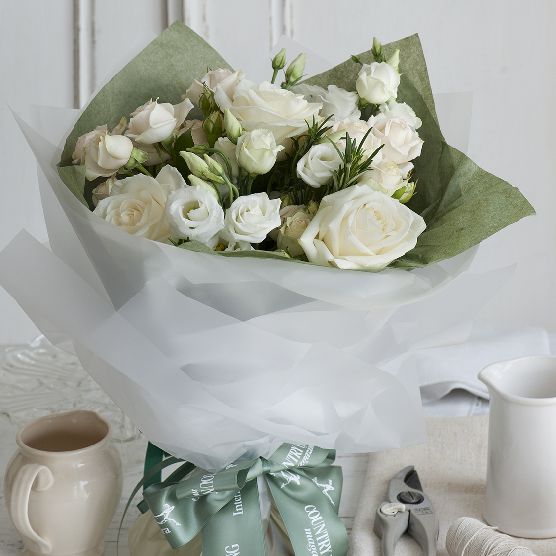 The country living interflora bouquet collection for Country living magazine uk recipes