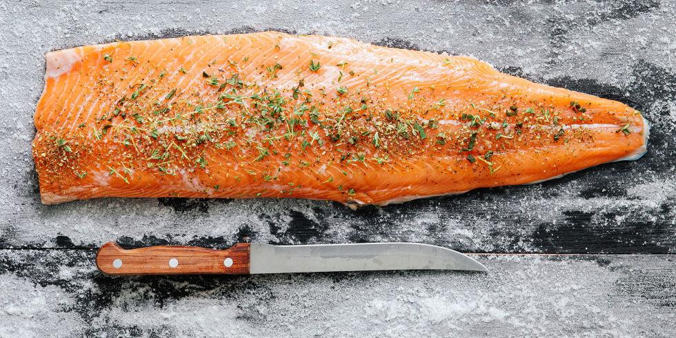 salmon tips makanan sehat