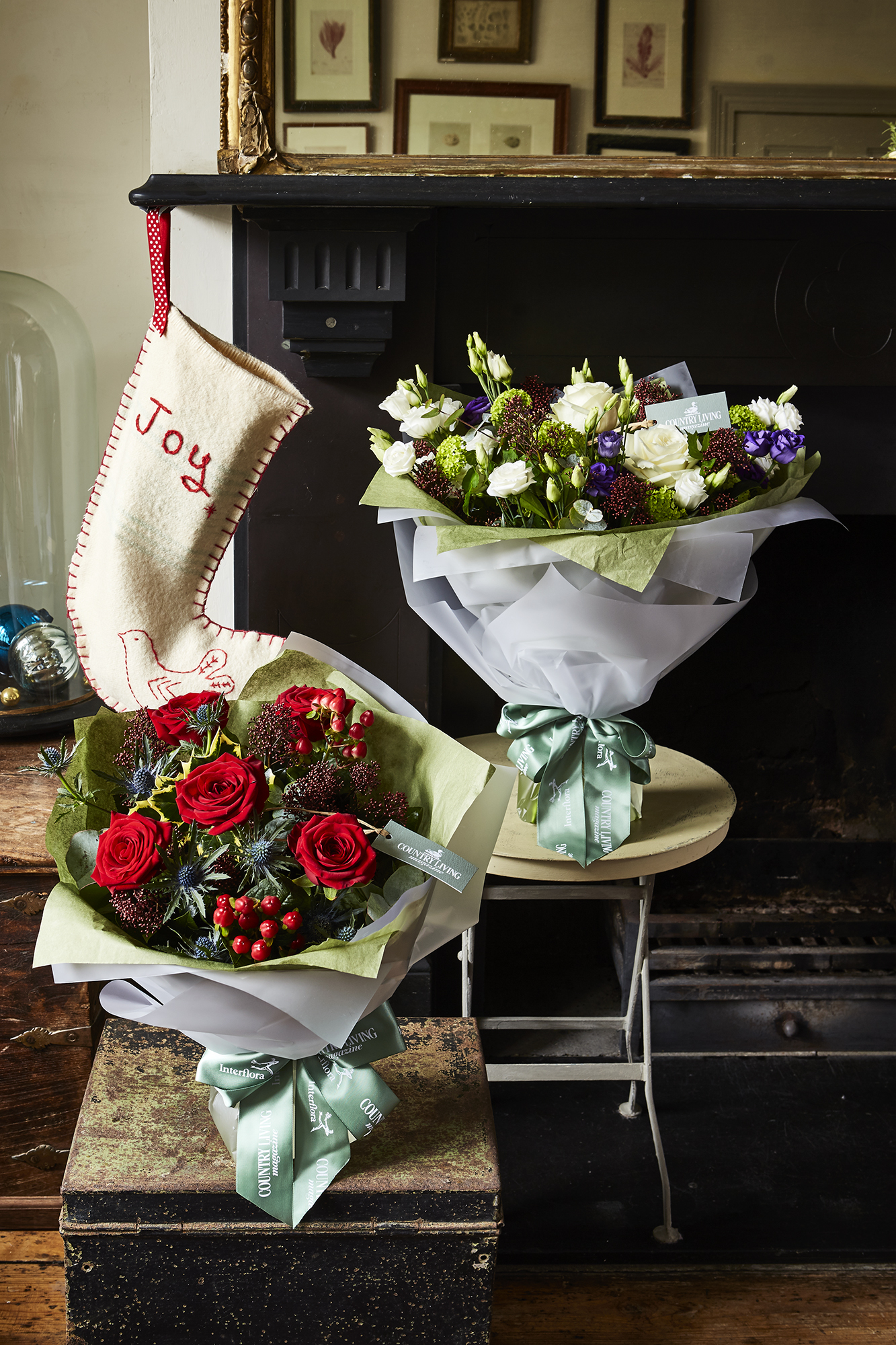 Our Country Living Winter Hand Tied Bouquets Are Here