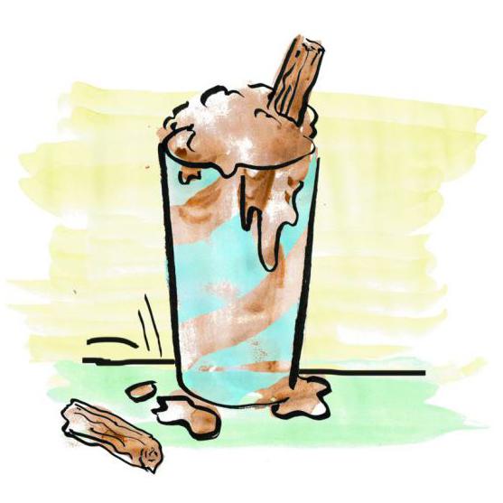 roald dahl milkshake