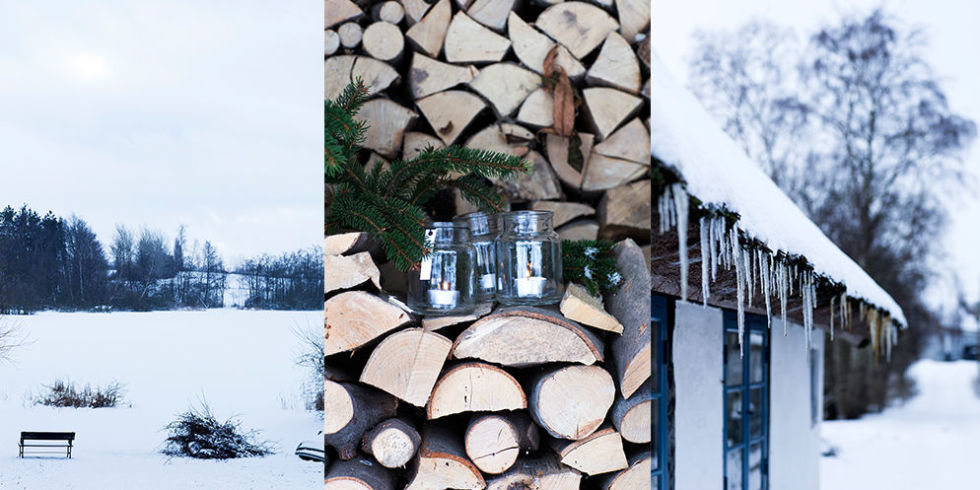 winter wonderland christmas decoration