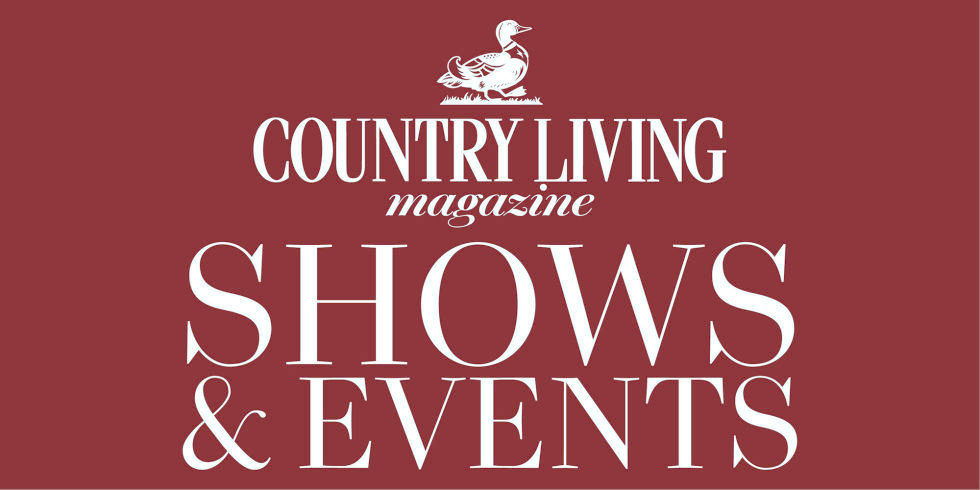 Tickets For Our Exciting 2018 Line Up Of Country Living