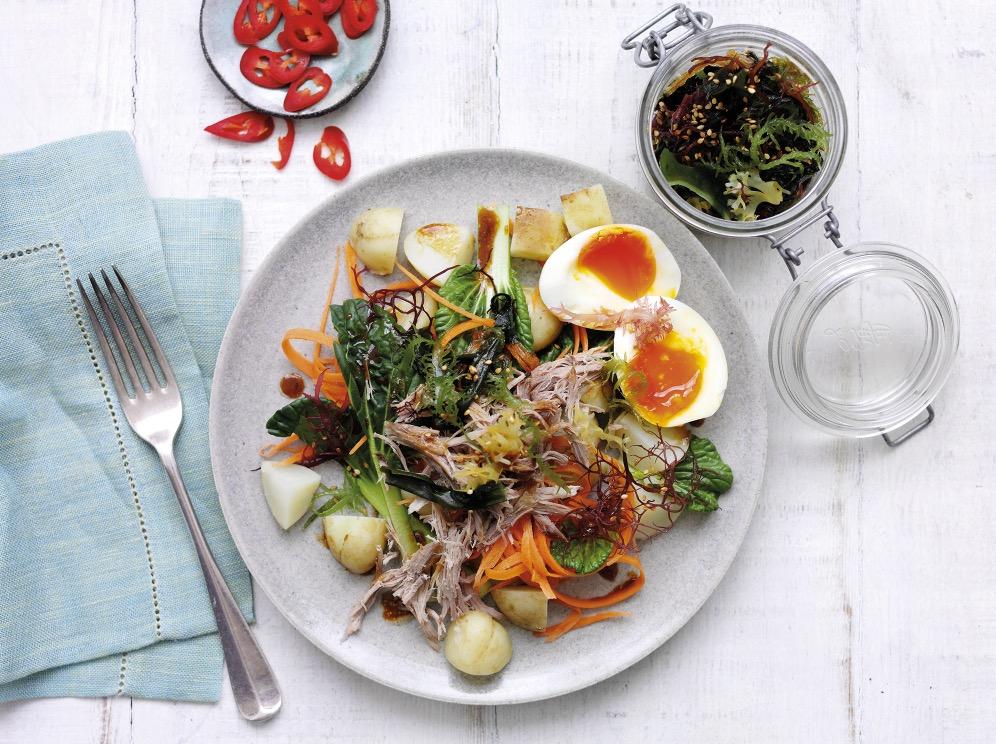 Warm Jersey Royal Potato And Seaweed Salad Recipe Potato