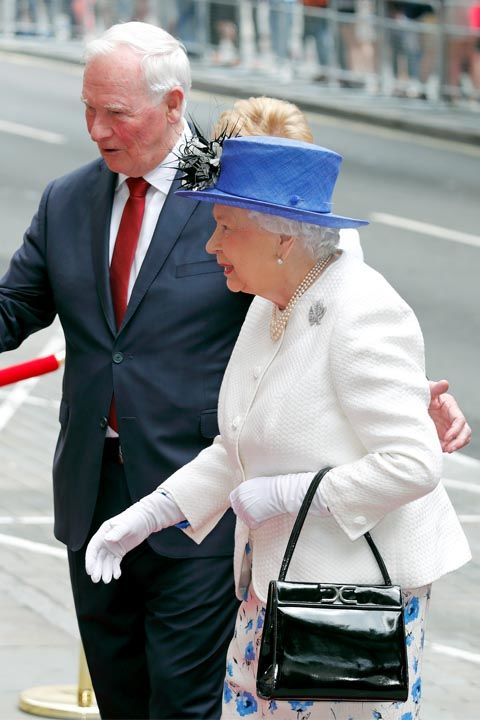 Protocol says anyone meeting Queen Elizabeth for the first time should wait for her to extend her hand first. And even afterwards, contact should be kept to a minimum. That means hugs and kisses are a major no no.