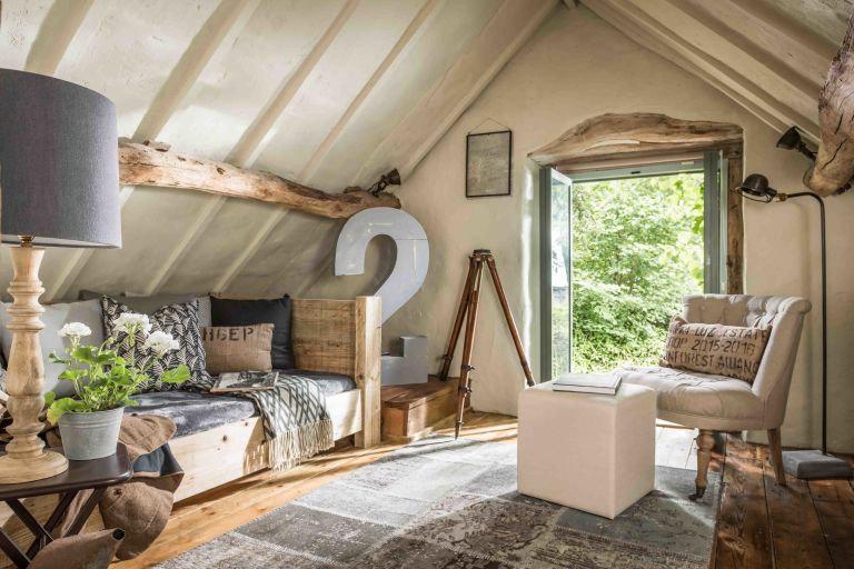 Unique Home Stays this 16th century luxe barn offers a slice of