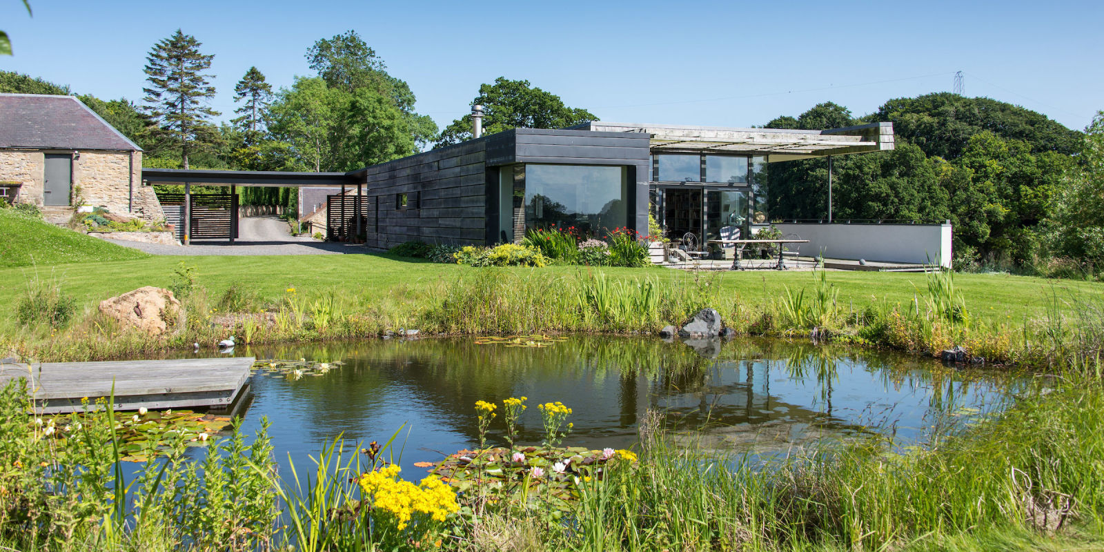 Kevin mccloud 39 s dream home from grand designs is up for sale for Grand design homes