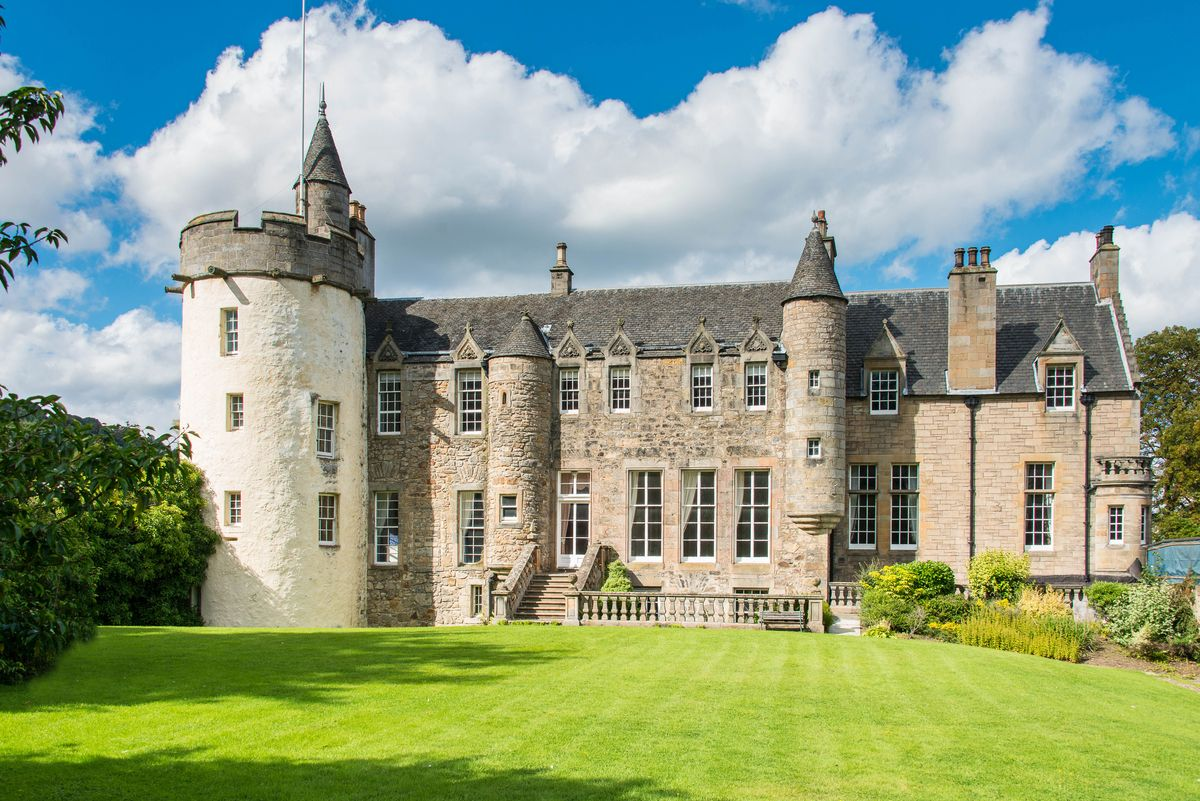 Craigcrook Castle Where Charles Dickens Alfred Lord