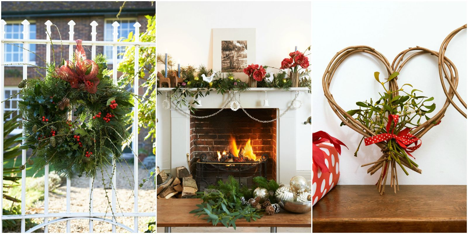 8 ways to decorate your home with greenery this christmas Christmas interior decorating ideas