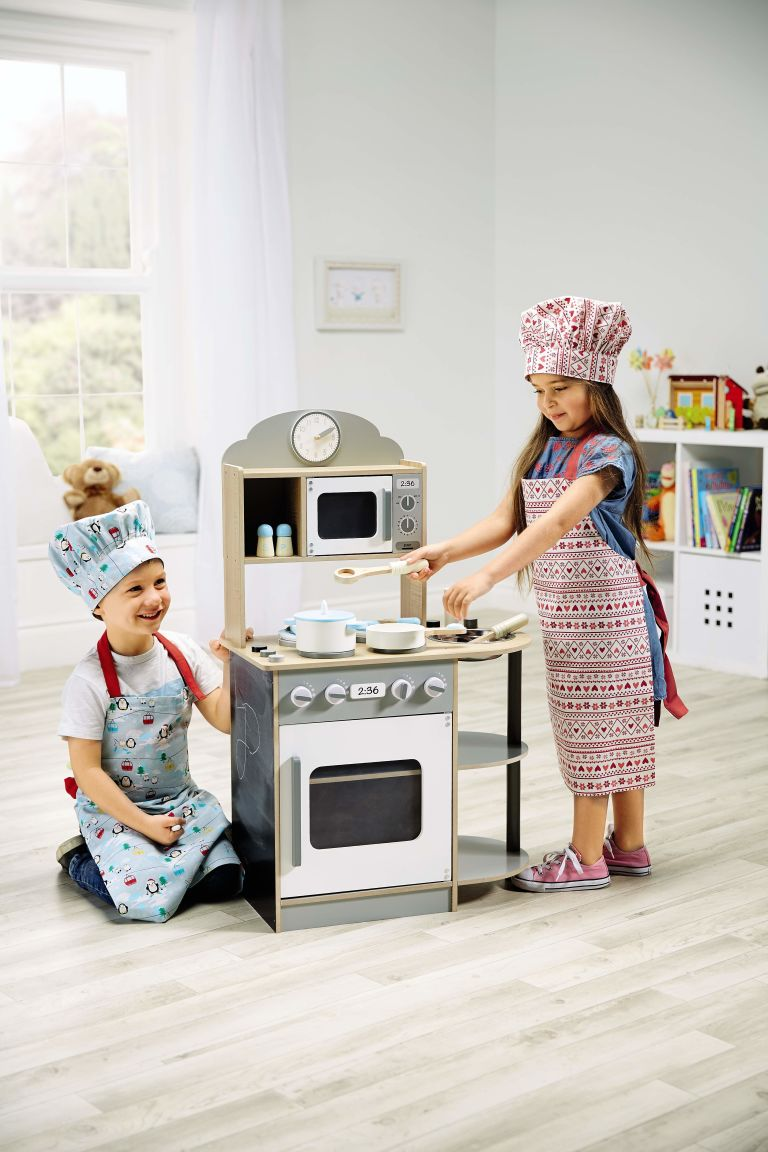 aldi wooden kitchen set aldi launches an affordable wooden toy range just in time for      rh   countryliving co uk