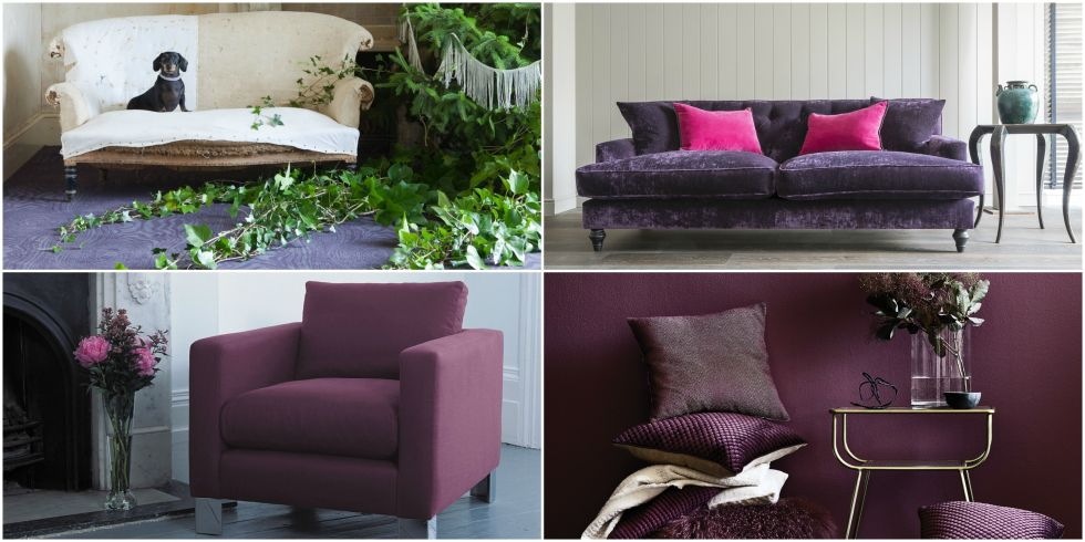 12 ways to introduce pantones colour of the year ultra violet into your home - Violet Home Ideas