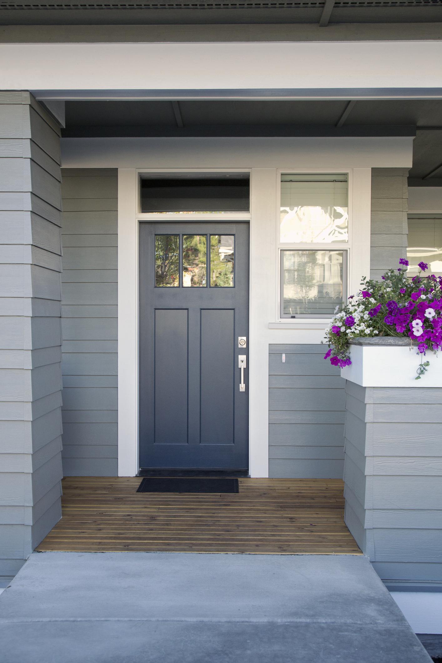 10 most popular door colours in 2018 front door colour - Blue front door colors ...