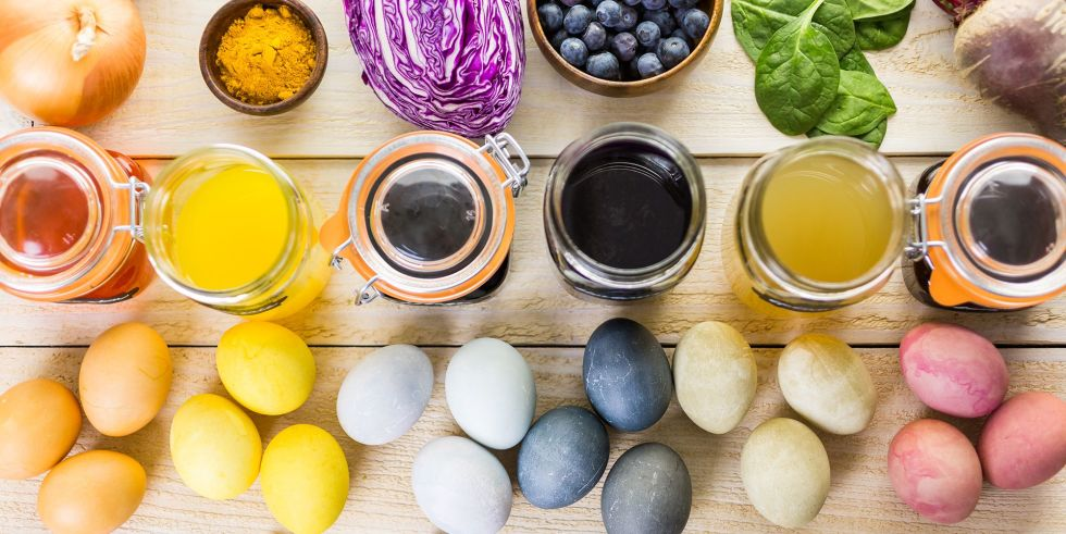 How to make natural Easter egg dye from ingredients in your kitchen